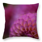 Pink Dazzle Throw Pillow