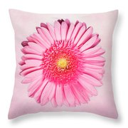 Pink Delight Throw Pillow by Tamyra Ayles