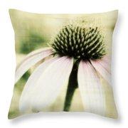 Pink Flower Throw Pillow