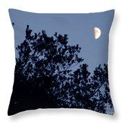 Pink Half Moon Photograph Throw Pillow