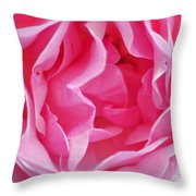 Pink March Rose 2012 Limited Edition Throw Pillow