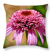 Pink On Pink Throw Pillow
