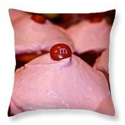 Pink Parade Throw Pillow