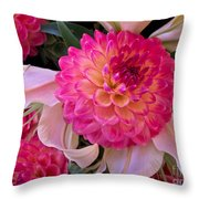 Pink Possibilities Throw Pillow