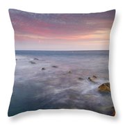 Pink Seasunset Throw Pillow