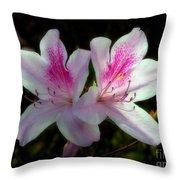 Pinka-dilly Throw Pillow