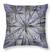 Pins And Needles Throw Pillow