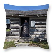 Pioneer Greeting Throw Pillow