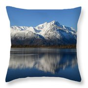 Pioneer Reflected Throw Pillow