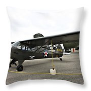 Piper L4 Grasshopper Usa Throw Pillow