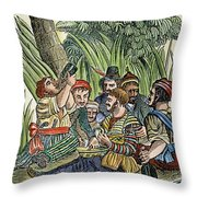 Pirate Crew Throw Pillow