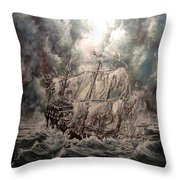 Pirate Islands 2 Throw Pillow