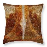 Pistil Throw Pillow by Christopher Gaston