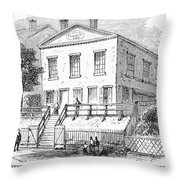 Pittsburgh: Church Throw Pillow by Granger