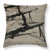 Pk General-purpose Machine Guns Stand Throw Pillow