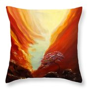 Place In Paradise Throw Pillow