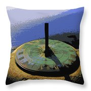 Place Time Dimension Throw Pillow