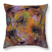 Planet Perspectives Throw Pillow
