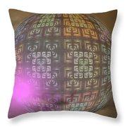 Planet X321z4 Throw Pillow