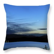 planetary conjunction Mercury Venus and the Moon I Throw Pillow