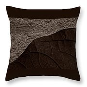 Plant And Mineral Throw Pillow