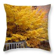 Plant Biology Throw Pillow
