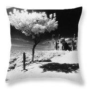 Plas Pren Throw Pillow by Simon Marsden