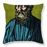 Plato, Ancient Greek Philosopher Throw Pillow