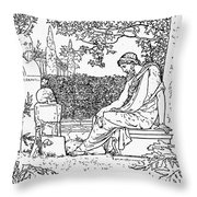 Plato (c427-c347 B.c.) Throw Pillow