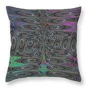 Platter Pandemonium Throw Pillow