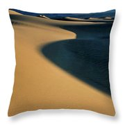 Play Of Light And Shadow Throw Pillow
