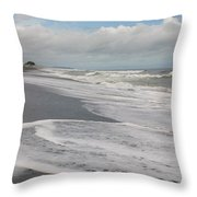 Playa Hermosa Morning Throw Pillow