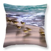 Playing Pipers Throw Pillow
