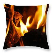 Playing With Fire II Throw Pillow