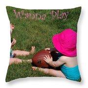 Playtime Throw Pillow