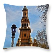 Plaza De Espana - Sevilla Throw Pillow