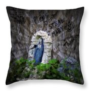 Please Don't Steal Mary Throw Pillow