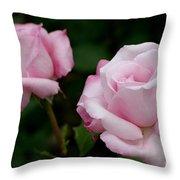 Pleasurable Pink Throw Pillow