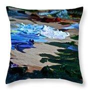 Plein Air Palette Throw Pillow