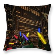 Plug In Baby Throw Pillow