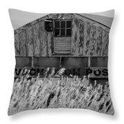 Plum Island 2 Throw Pillow