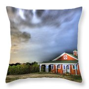 Plymouth Orchards Plymouth Mi  Throw Pillow