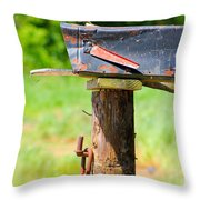 Po Monkey's Po Mailbox Throw Pillow
