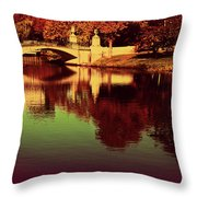 Pocket Of The City Throw Pillow by Dana DiPasquale