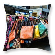 Pocketbooks And Purses Throw Pillow