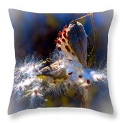 Pod Explosion Throw Pillow