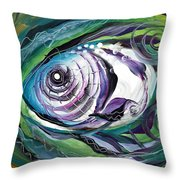 Poetic Chaos Throw Pillow