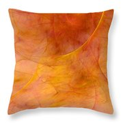 Poetic Emotions Abstract Expressionism Throw Pillow