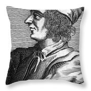 Poggio Bracciolini Throw Pillow