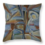 Point And Click Two Throw Pillow